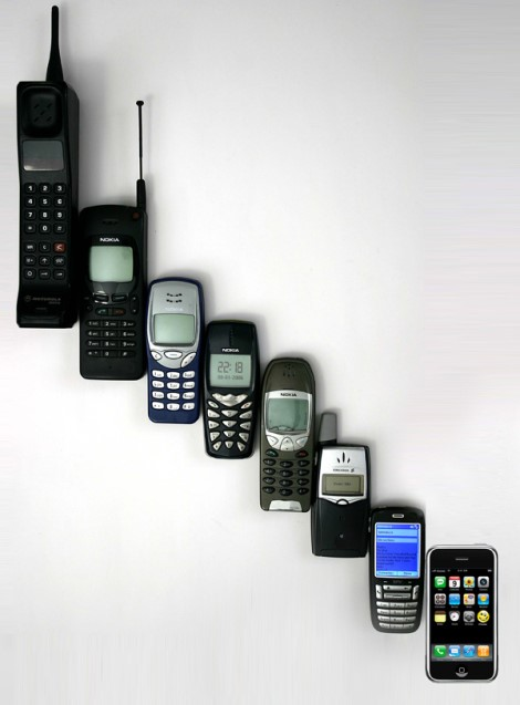 Evolucion de dispositivos moviles