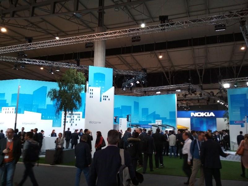 pabellón de Nokia