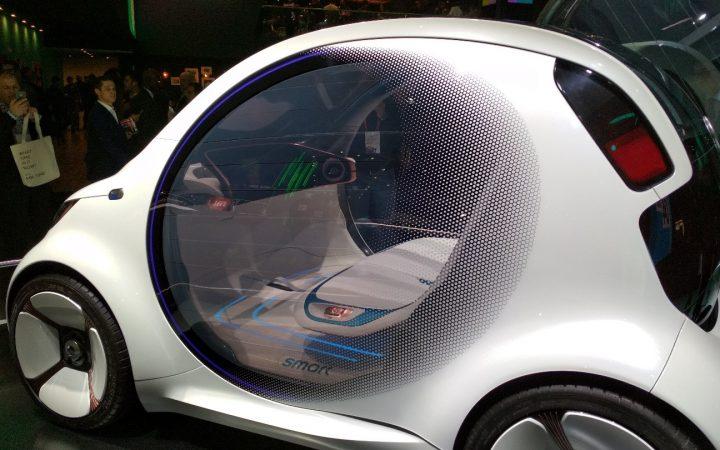vehículo autónomo smart