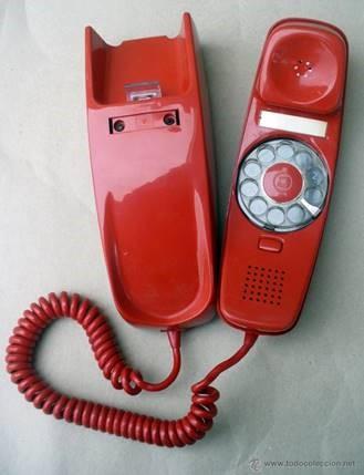 Teléfono tipo góndola