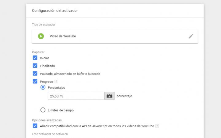 trigger video youtube en gtm