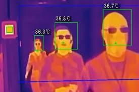 Resultado de imagen de medir fiebre caamra