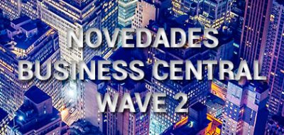 Novedades Business Central wave 2